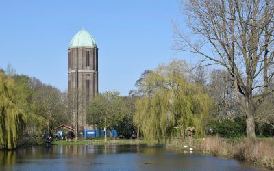 Fietsroute watertorens Utrecht
