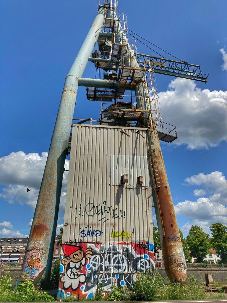 De KBTR - street art - Kanaalweg