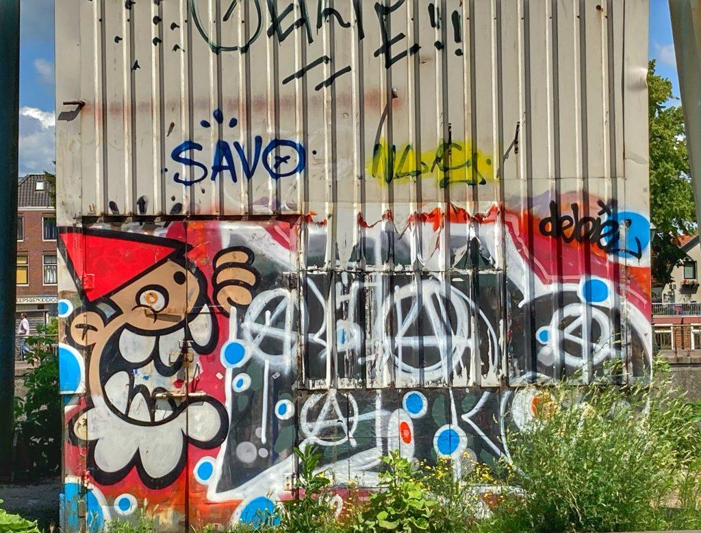 Top 10 street art in Utrecht - KBTR