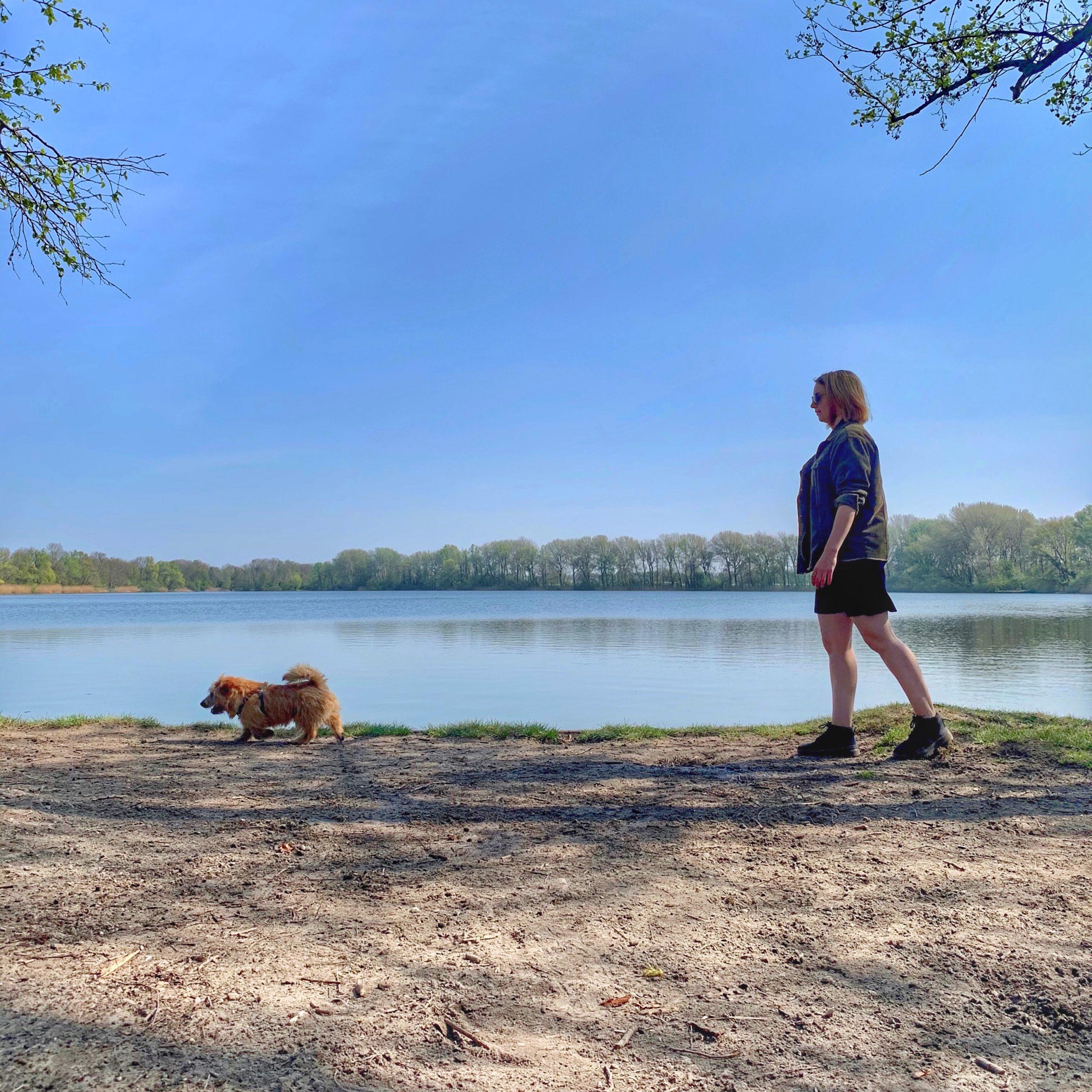 Wandelen bij de Kleine Plas in Maarssen