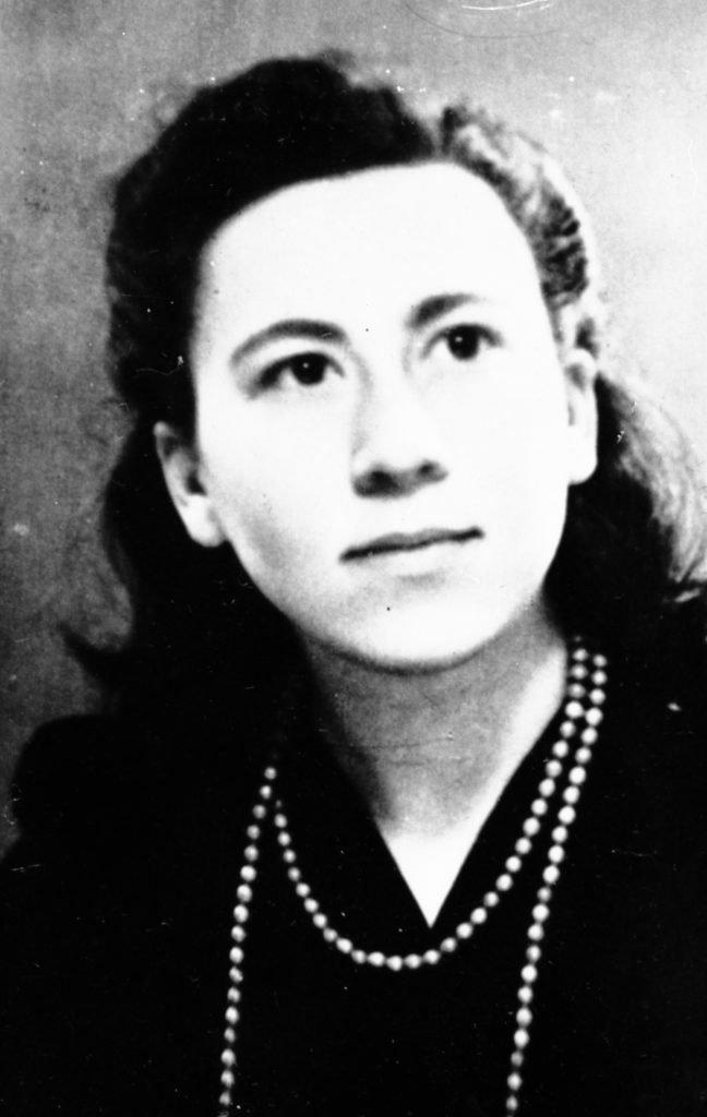Portret van verzetsheldin Geertruida (Truus) van Lier, gemaakt rond 1940.