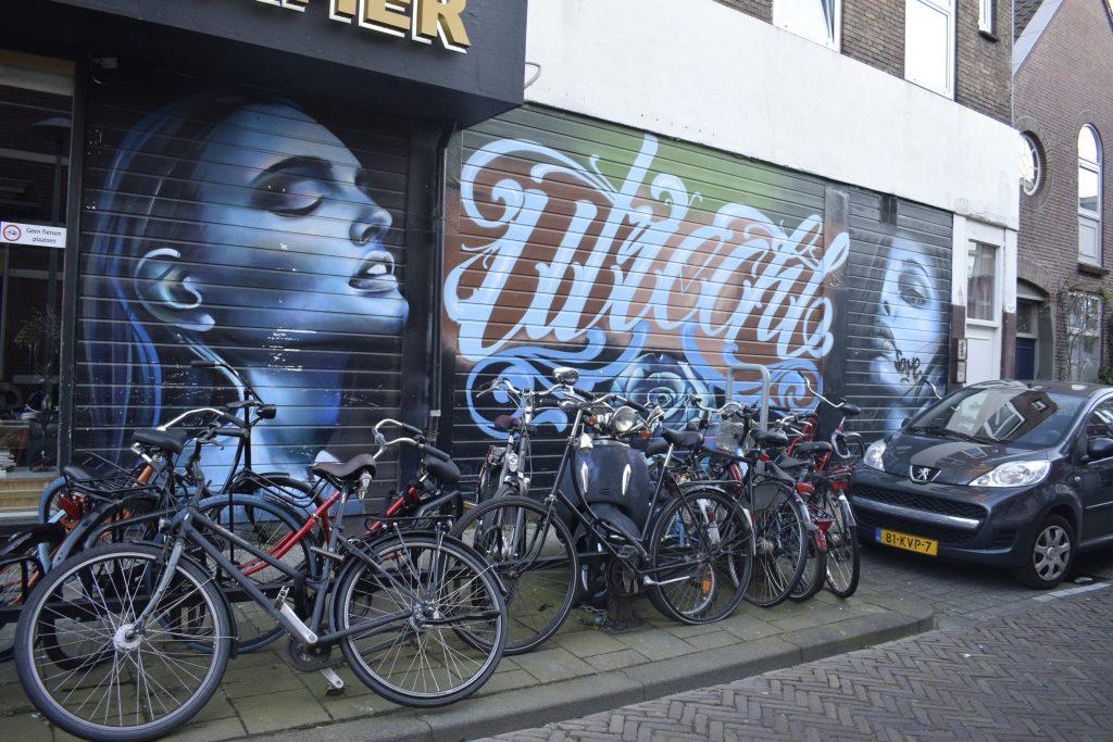 Street art - Dirkje Mariastraat Tweede Daalsedijk