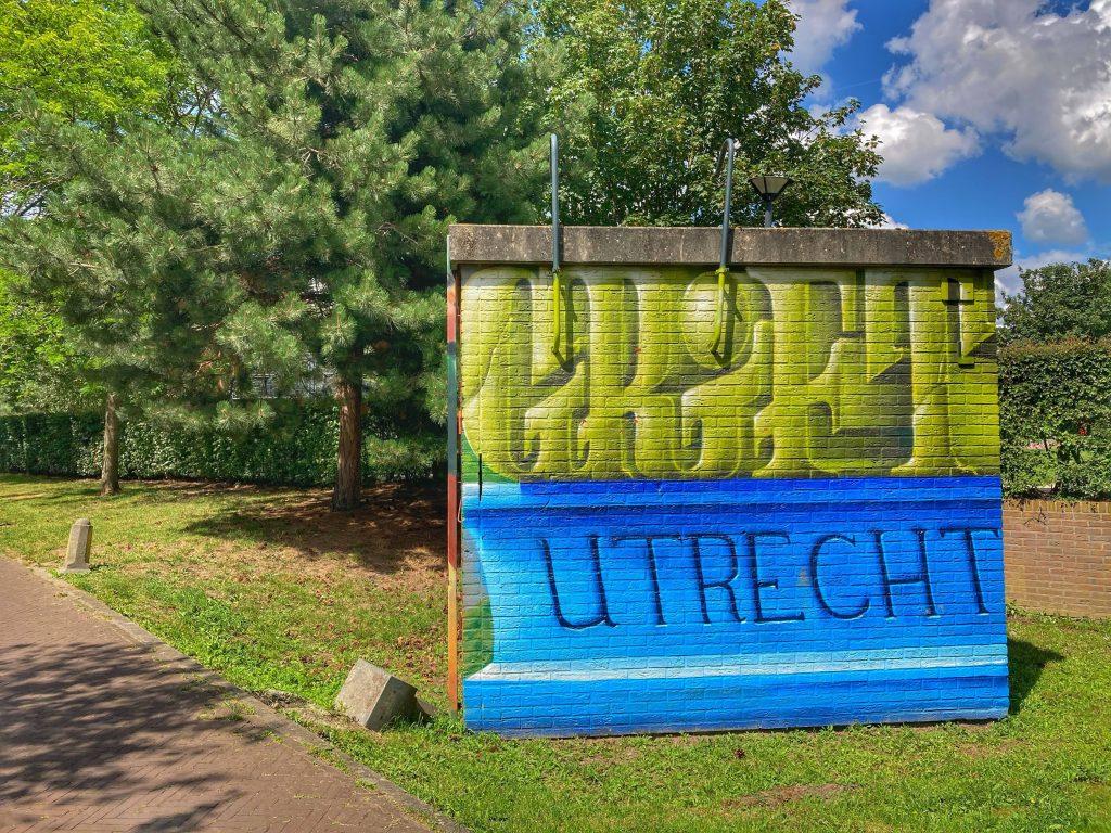 Griftpark - street art - Utrecht