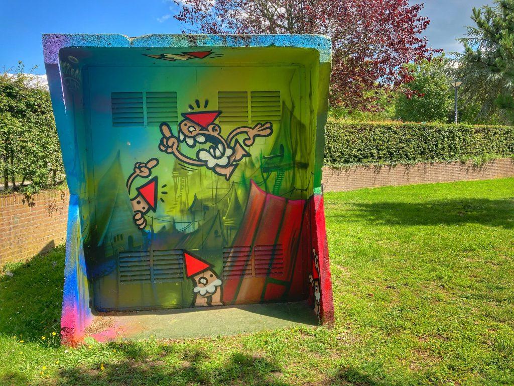 Griftpark - street art KBTR + JanisdeMan
