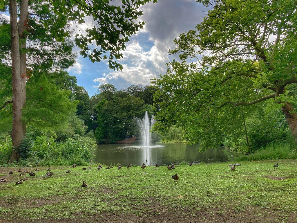 Julianapark - fontein