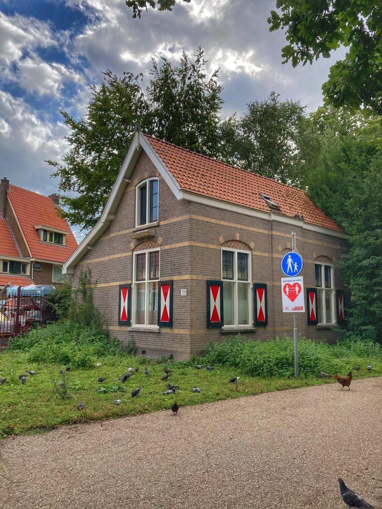 Julianapark - huisje ingang