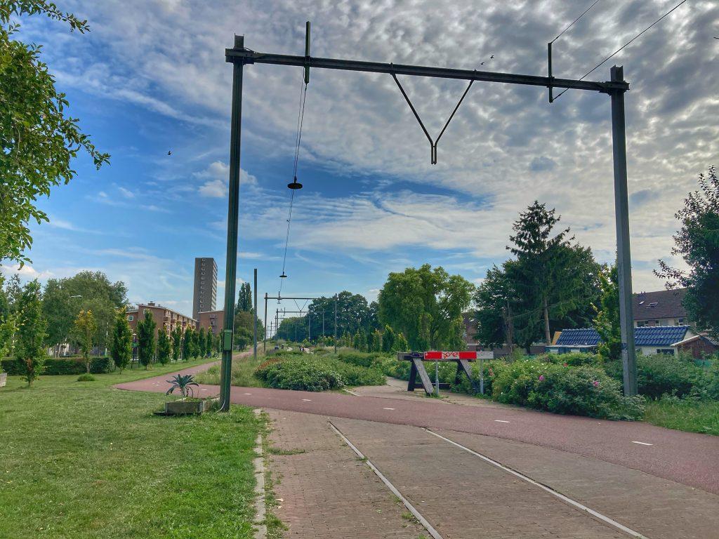 Oosterspoorbaanpark - spoorbaan