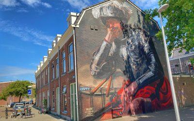 Fietsroute langs de mooiste street art van Utrecht!