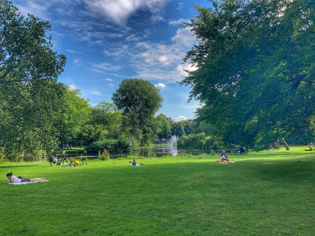 Wilhelminapark ligweide