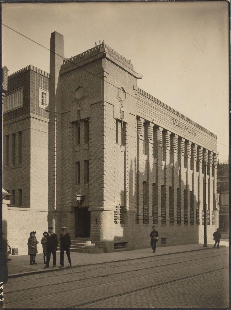 Zwart-wit - Incassobank Nobelstraat Utrecht - 1920