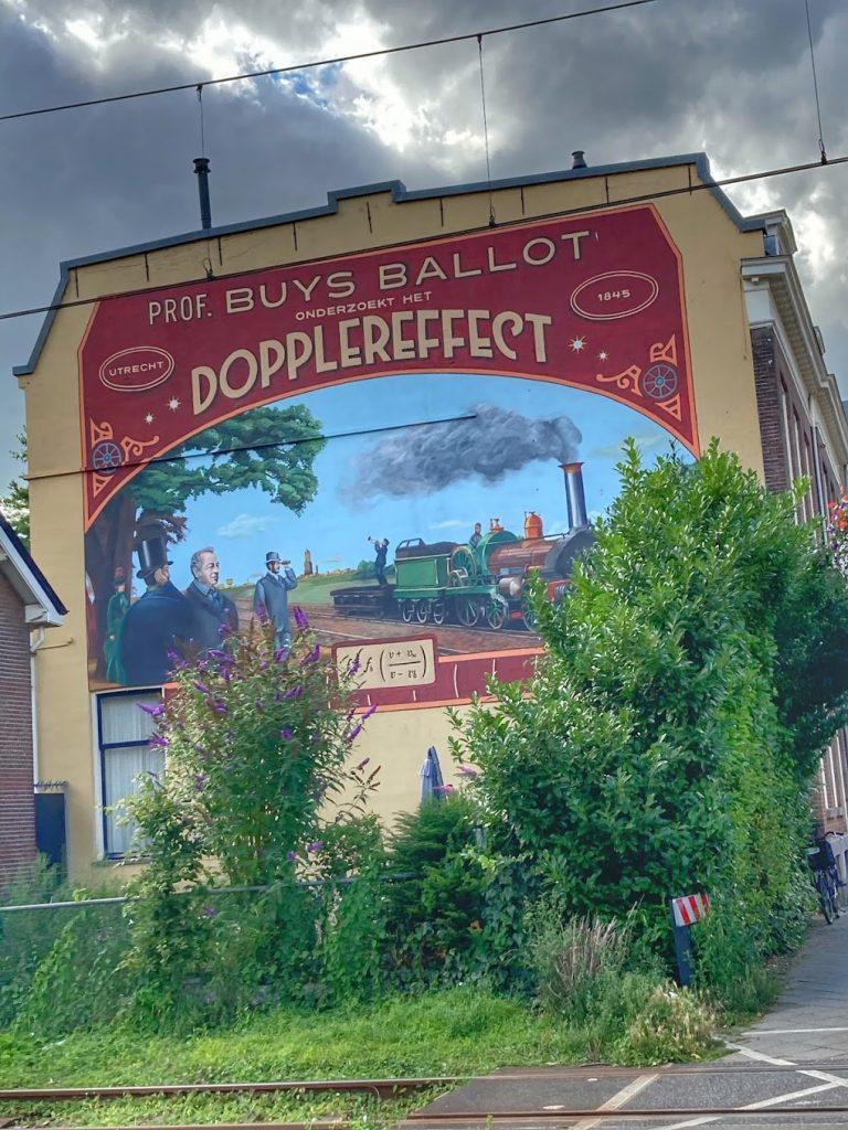 Het Dopplereffect - Street art in Utrecht Oost