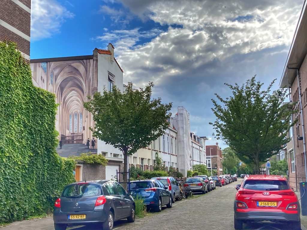 Street art - catharijnekerk - horizontaal 2