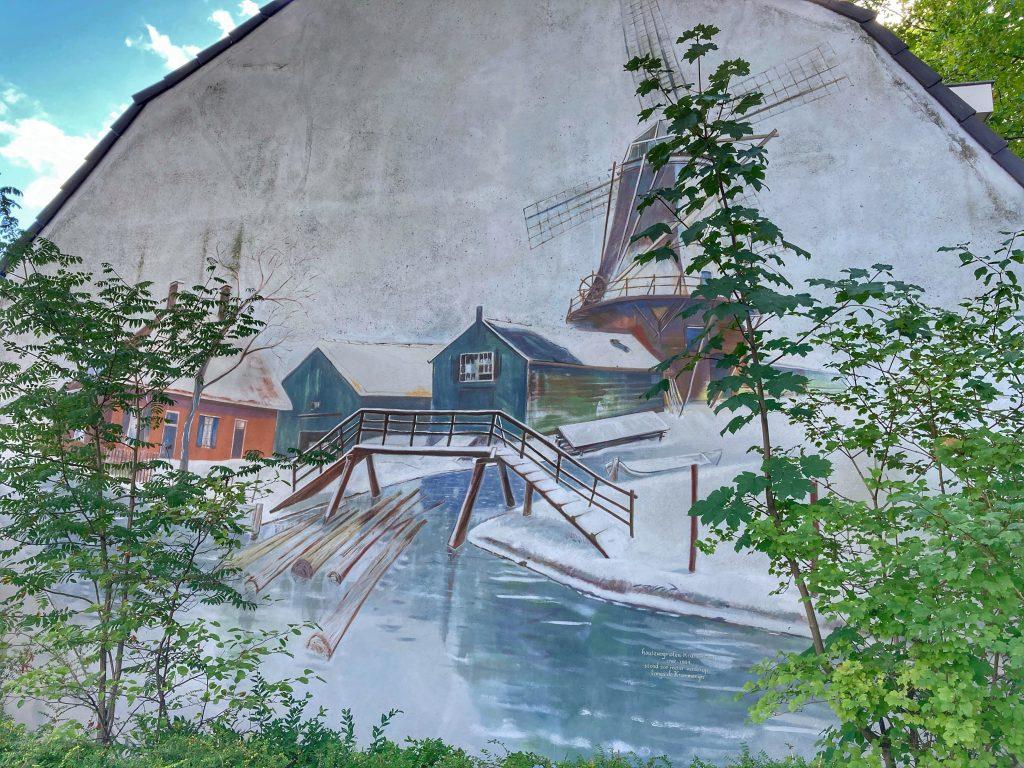 Street art in Utrecht Oost - Molen