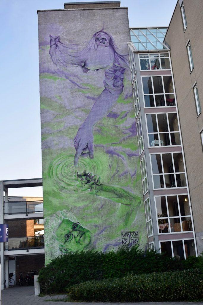 Mirror of Return - Street art in Utrecht Oost