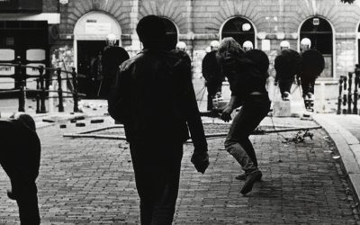 Poppodium Tivoli: punkers, krakers, demonstraties en muziekliefhebbers