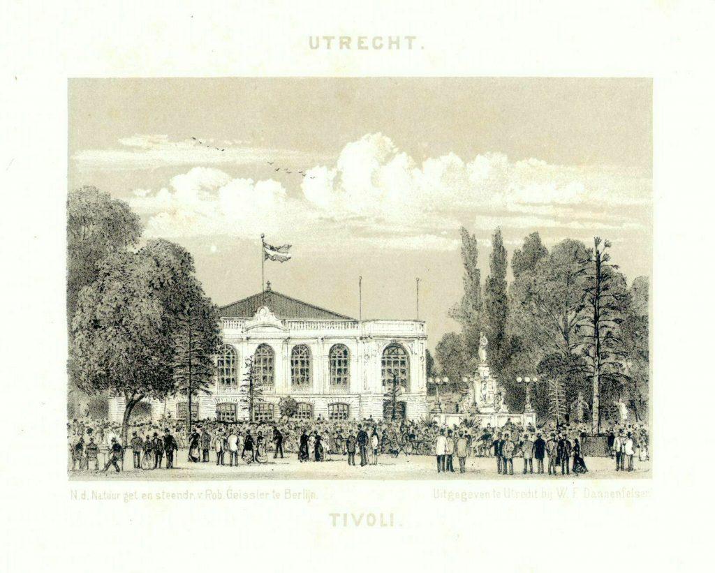concertzaal Tivoli in park Tivoli