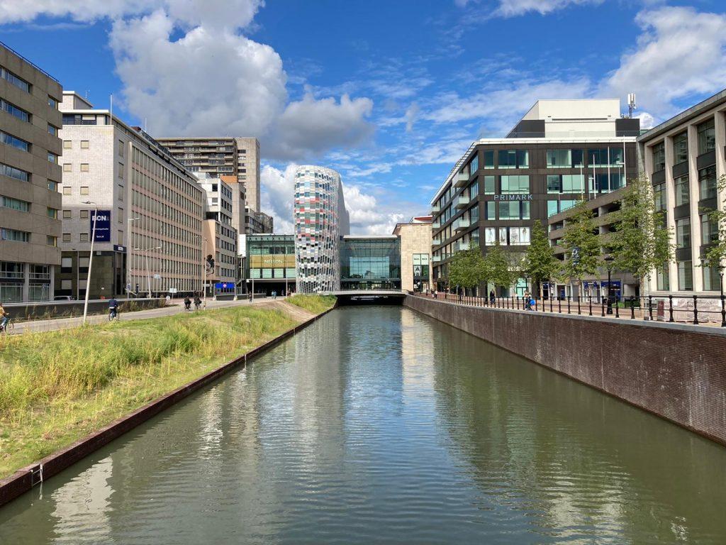 Wandeling langs de Singel van Utrecht