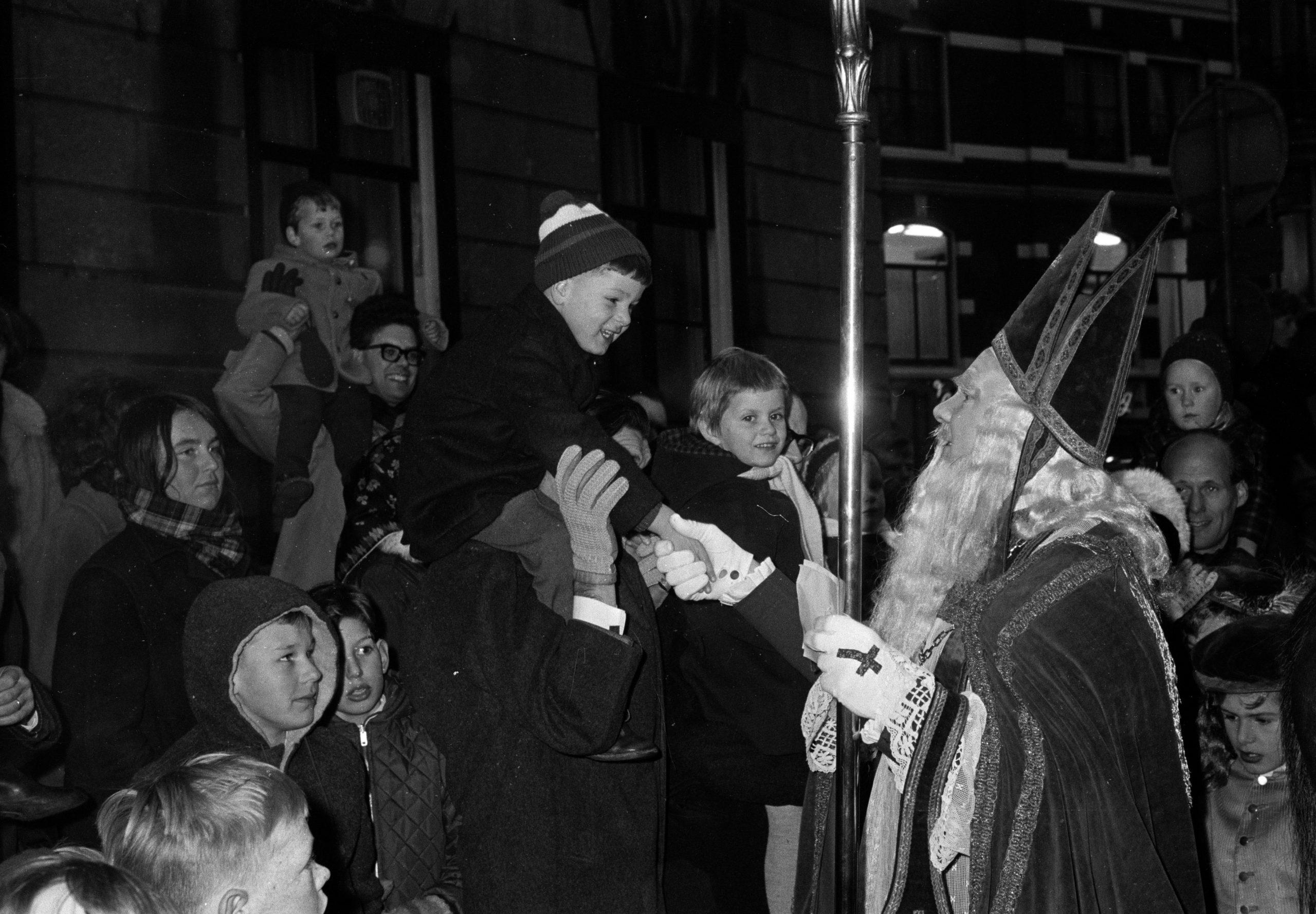 Sinterklaas intocht 1965