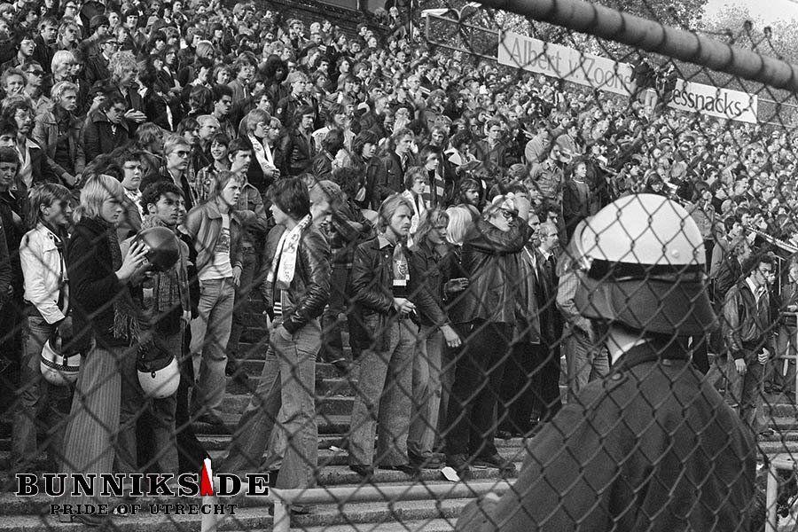 Dit moet je weten over FC Utrecht - Supporters Bunnikside jaren '70