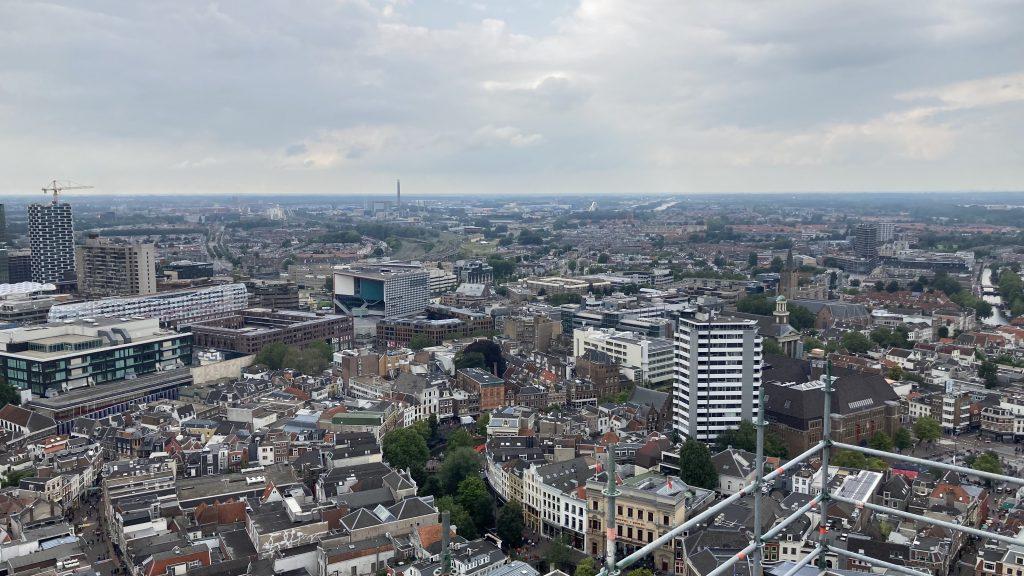 Sportief dagje uit in Utrecht - Uitzicht vanaf de Domtoren